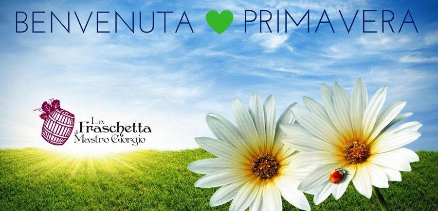 Fraschetta Mastro Giorgio benevenuta Primavera