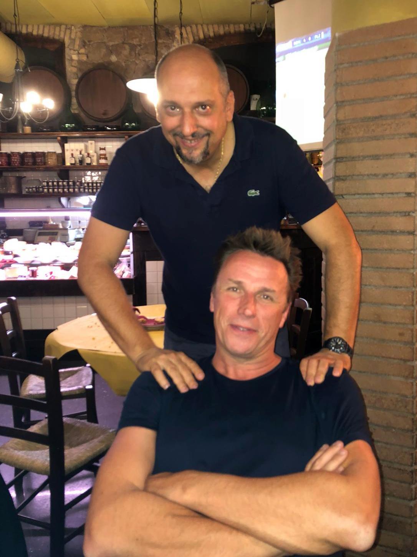 Lo Chef Marc Murphy e La Fraschetta di Mastro Giorgio