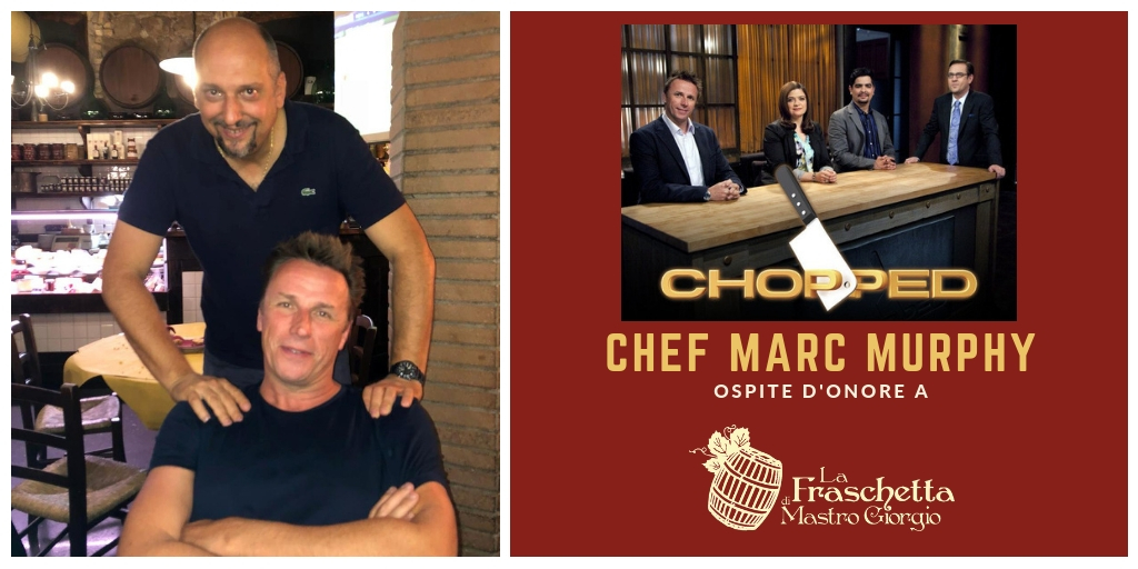 Lo Chef Marc Murphy ospite a La Fraschetta