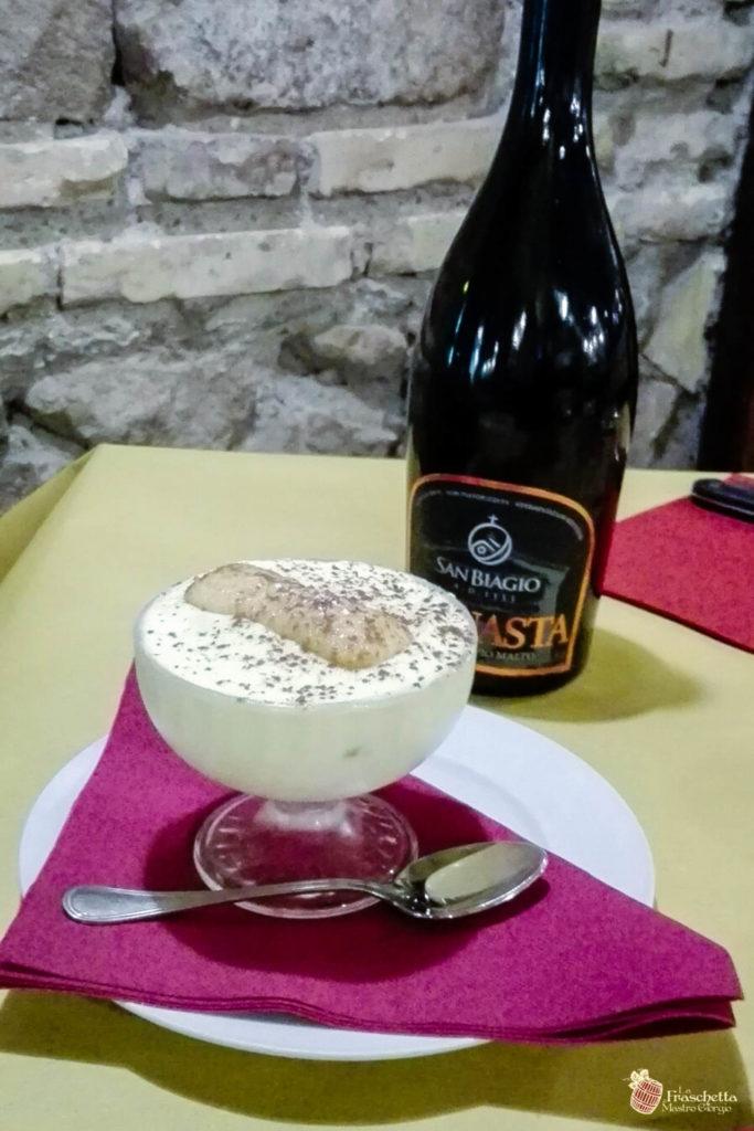 Birramisù con birra artigianale del birrificio San Biagio